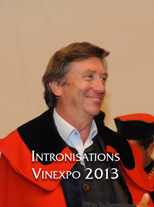 Intronisations Vinexpo 2013