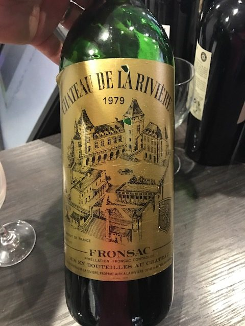 inauguration-mets-vins-chics-30-03-2017-Cha?teau-de-La-Rivie?re-1979-Grand-Vin-de-Bordeaux-Fronsac