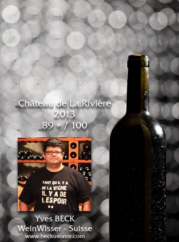 Yves Beck – Château de La Rivière 2013