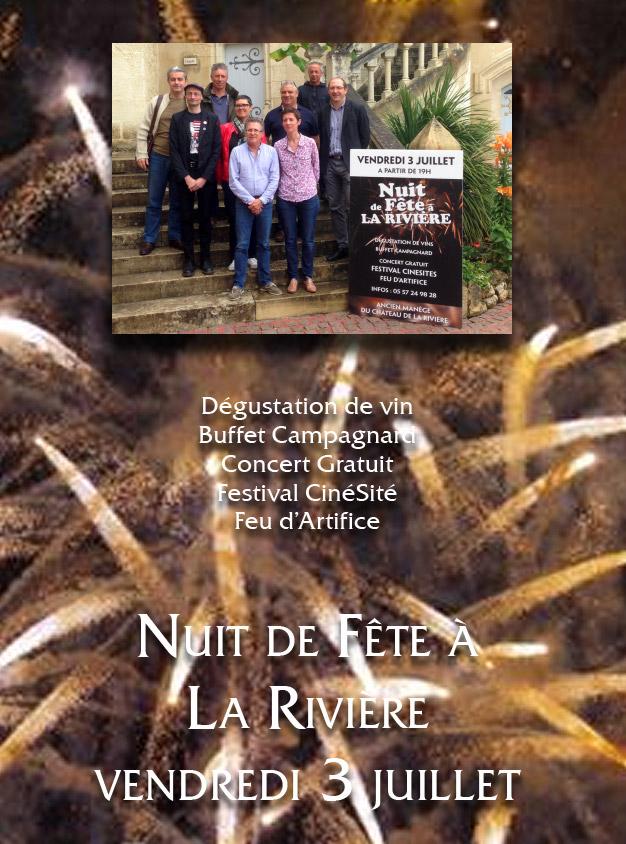 Nuit à La Rivière