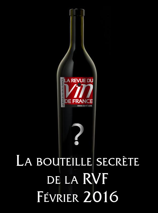 Concours bouteille secrète RVF