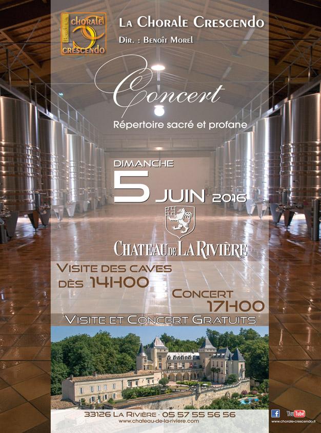 La Chorale Crescendo > Visite et Concert Gratuit
