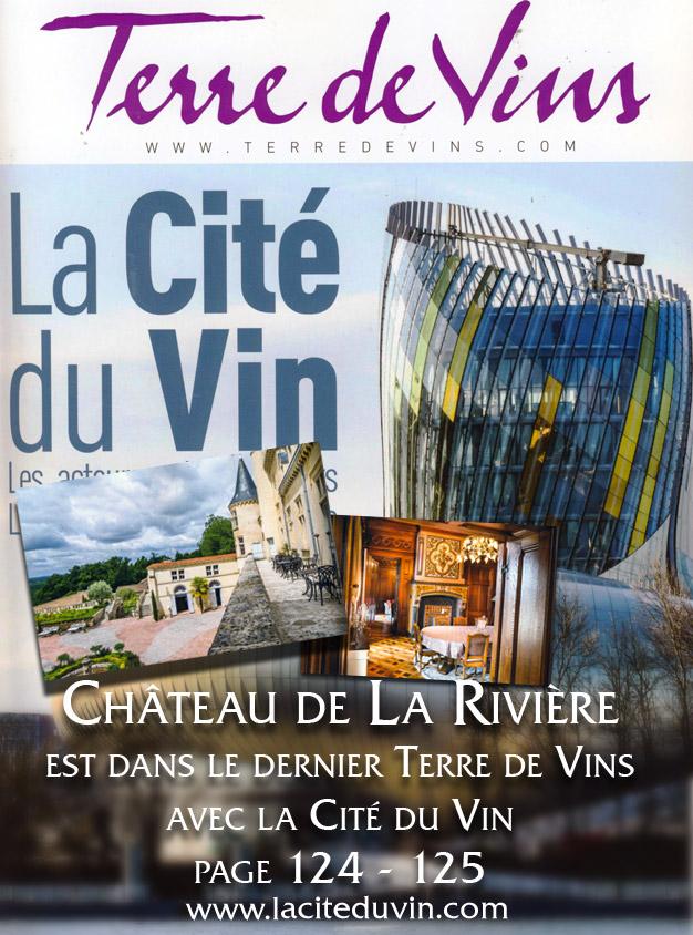 """Terre de Vins Spécial """"La Cité du Vin"""""""