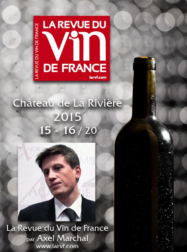 La Revue du Vin de France Millésime 2015 15-16/20