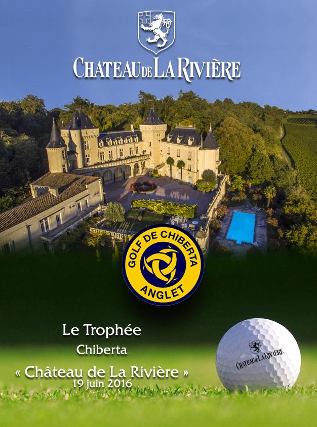 GOLF – Le Trophée Chiberta – Château de La Rivière