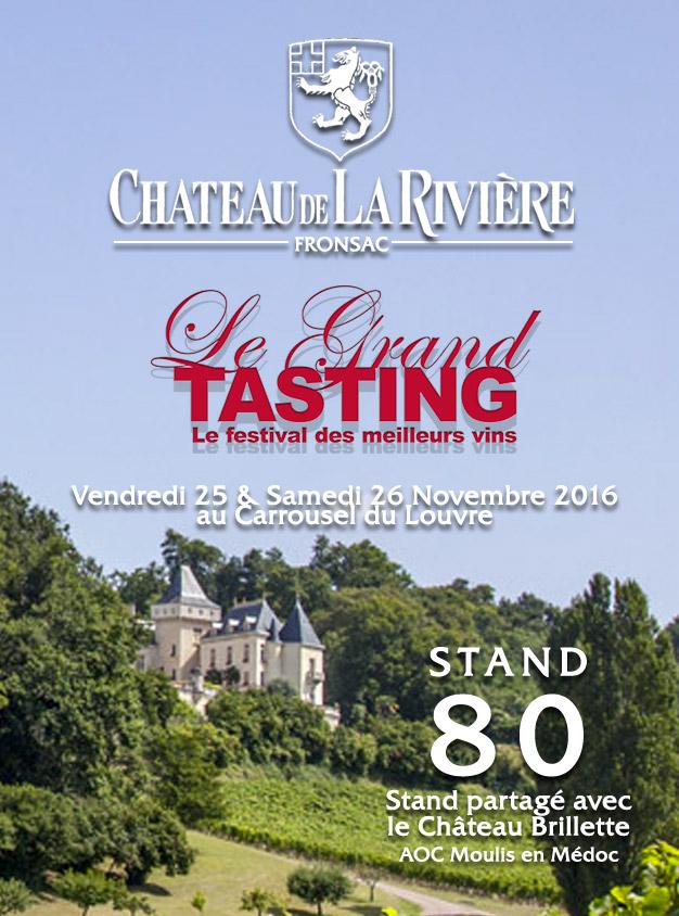 Grand Tasting – Bettane & Desseauve 2016 Stand 80