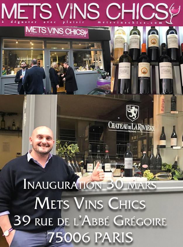 Mets Vins Chics ré-ouverture