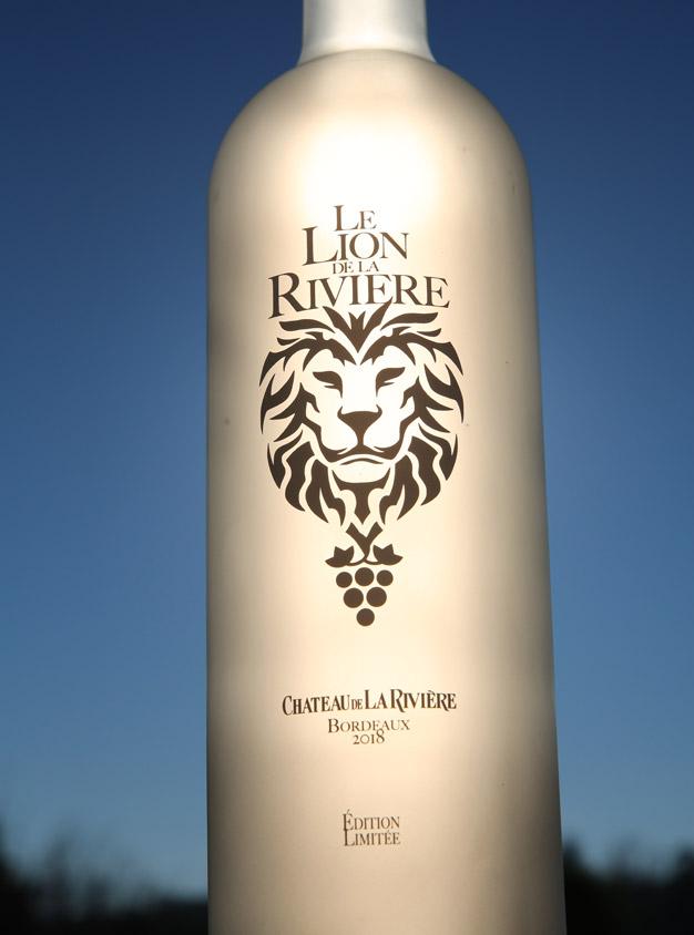 <center>Le Lion de La Rivière 2018 – Bordeaux Rosé</center>