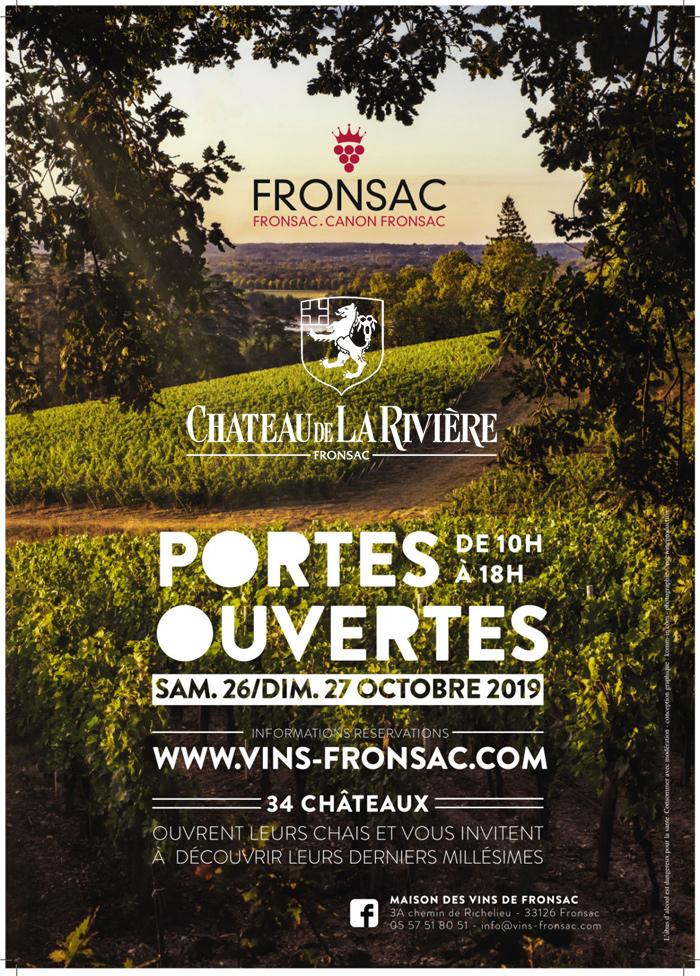 <center>L'Appellation Fronsac ouvre les portes de ses châteaux</center>