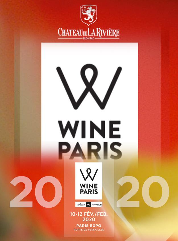 <center>Wine Paris – Château de La Rivière en dégustation le 10 février avec le Grand Cercle</center>