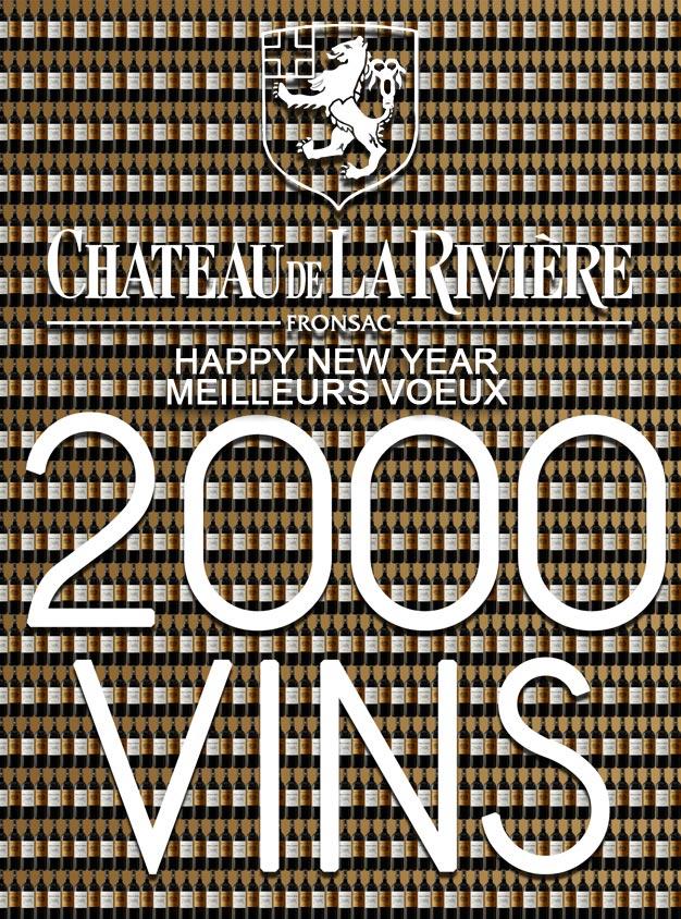 Meilleurs Voeux pour 2000 Vins
