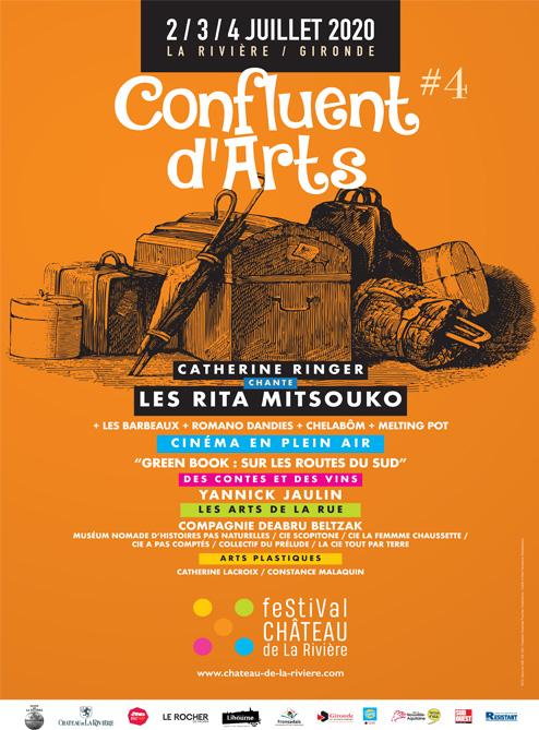 Festival Confluent d'Arts 2020 – Programme en ligne