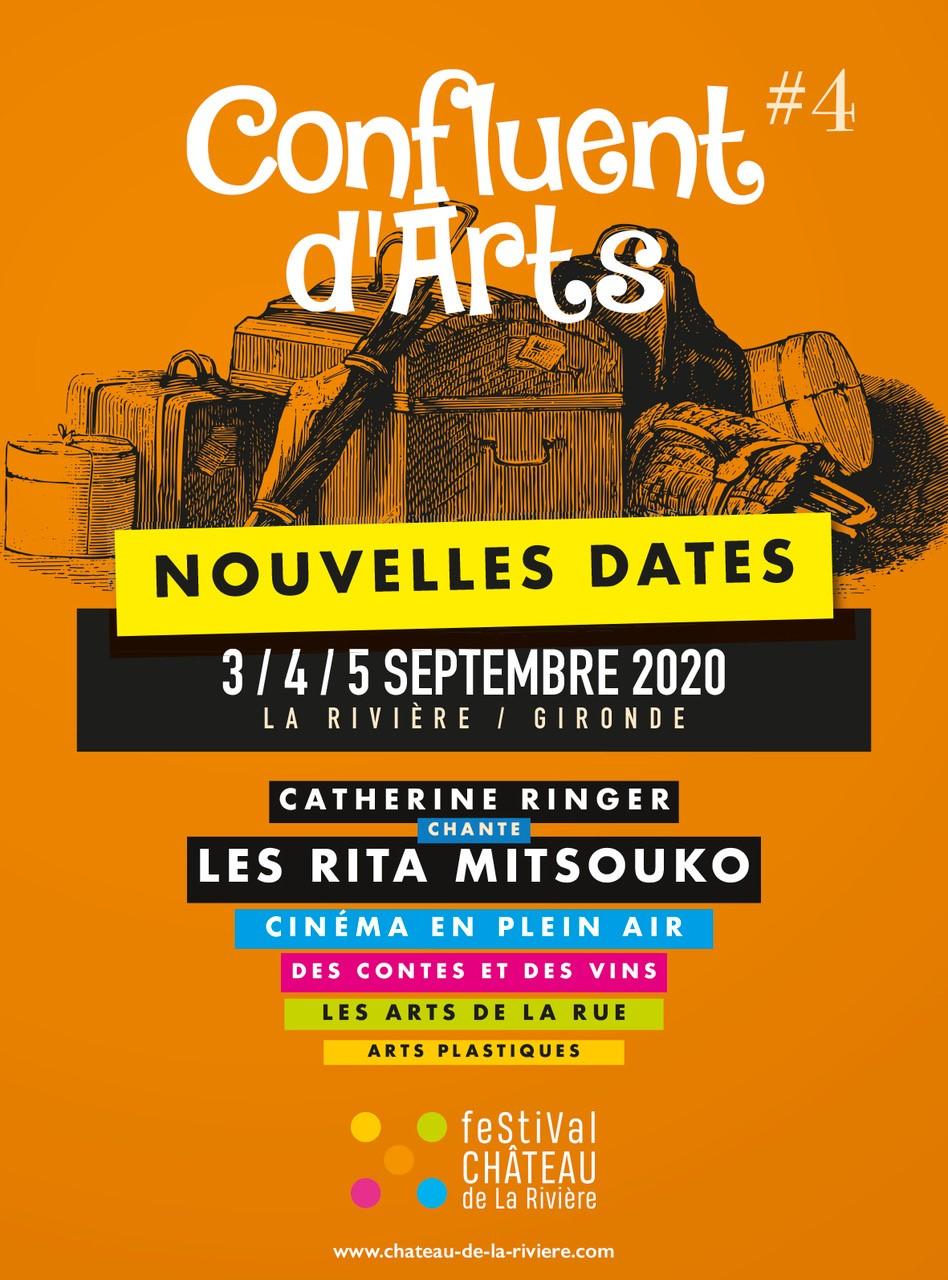 le Festival Confluent d'Arts repoussé au 3, 4 et 5 Septembre pour cause de Corona Virus – Covid-19