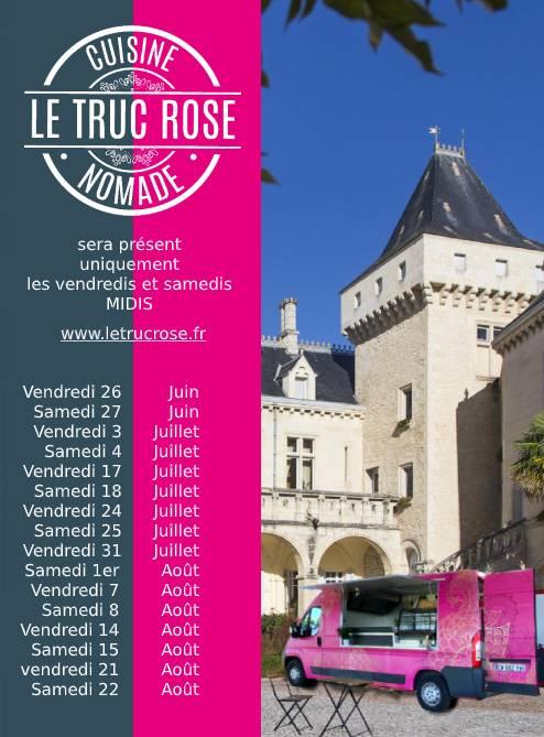 <center>Le Truc Rose s'installe les vendredis et samedis midis à La Rivière</center>