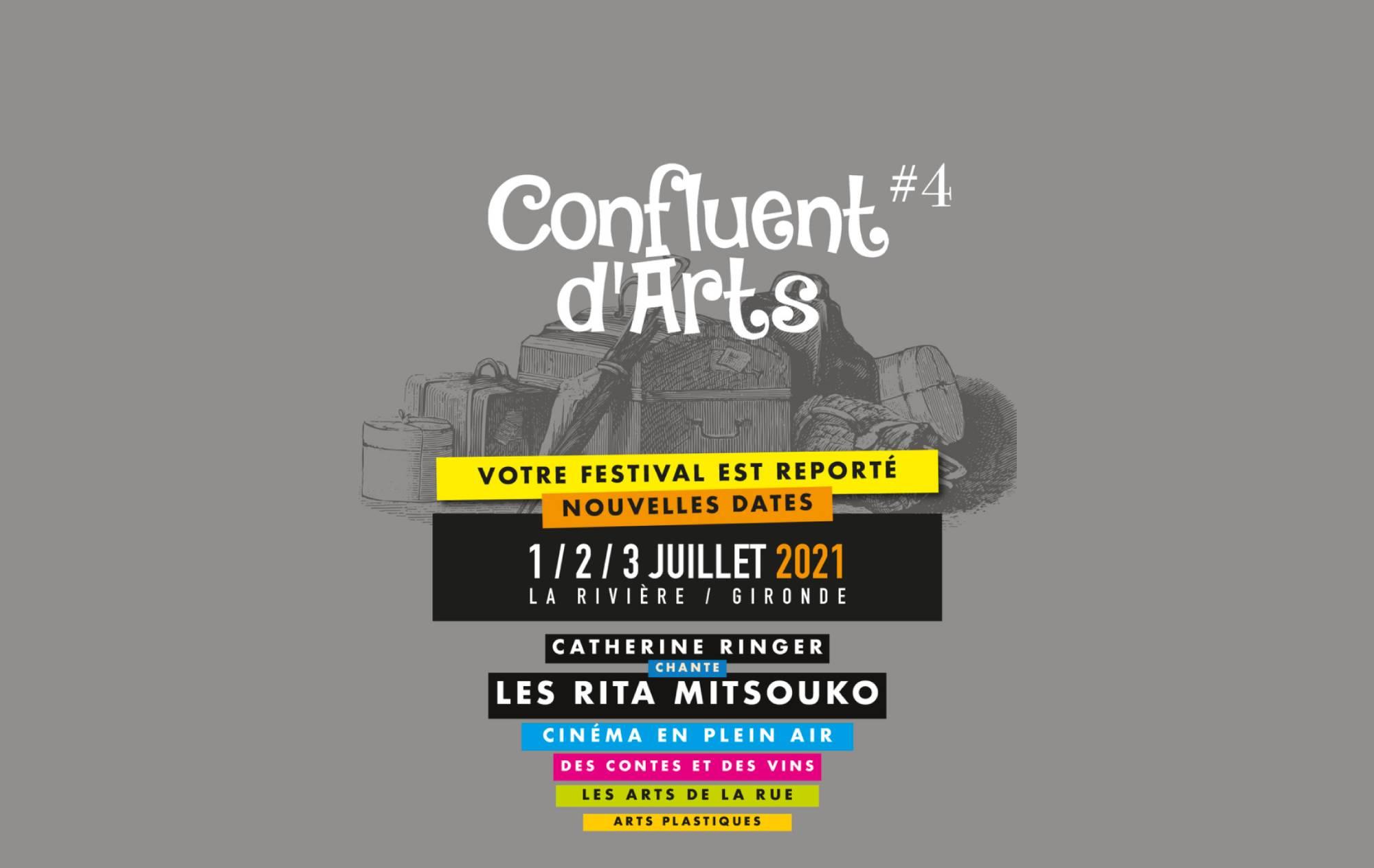 ♪♬ Confluent d'Arts 2021 – 4ème édition ♬♩