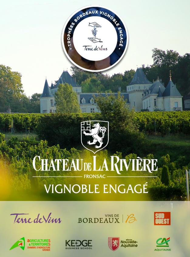 <center>Château de La Rivière un vignoble engagé</center>