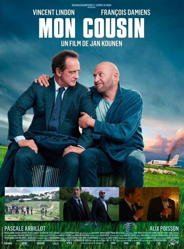 """<center>Le film de Jan Kounen """"Mon Cousin"""" avec Vincent Lindon et Francois Damiens</center>"""
