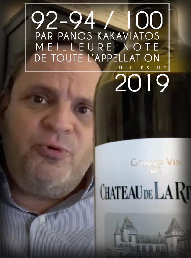 <center>La Rivière 2019 => 92-94/100 <br>vu par Panos Kakaviatos </center>