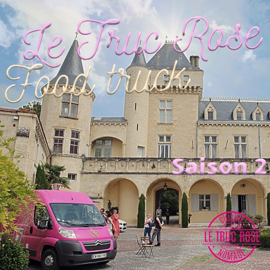 <center>Le Truc Rose Saison 2<br>pour le déjeuner <br> en Terrasse avec vue</center>