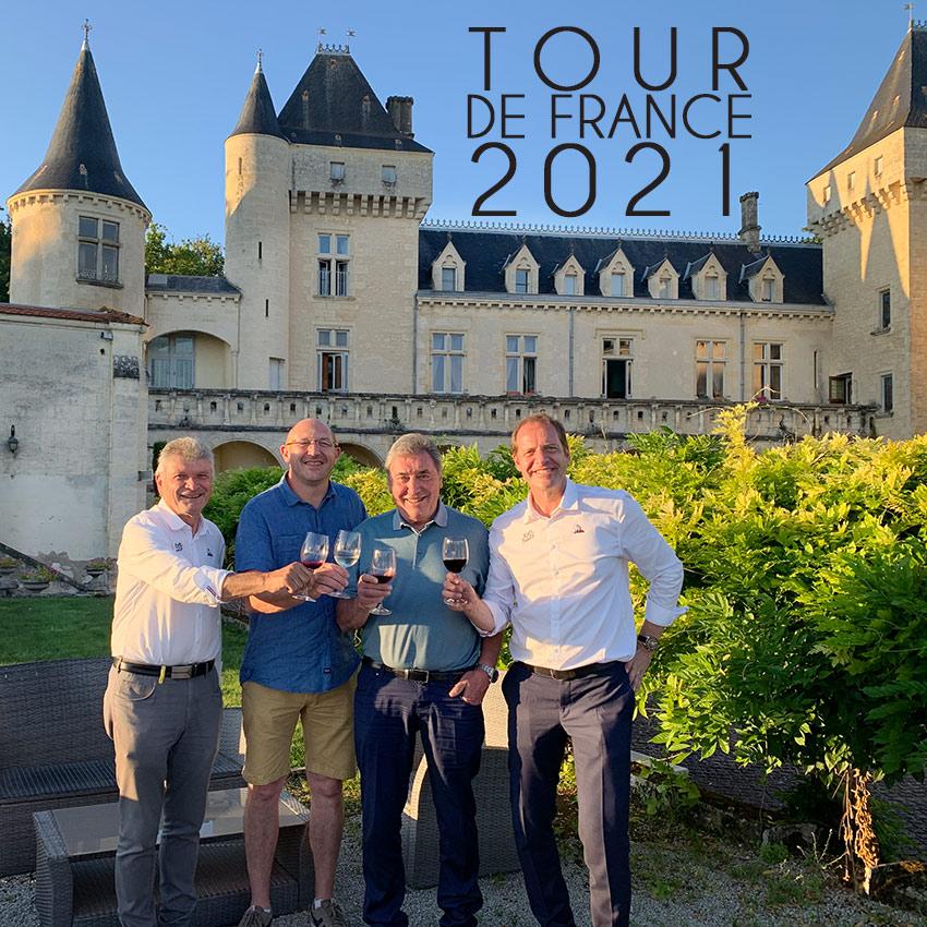 TOUR DE FRANCE 2021 avec Bernard Thevenet, Eddy Merckxx & Christian Prudhomme